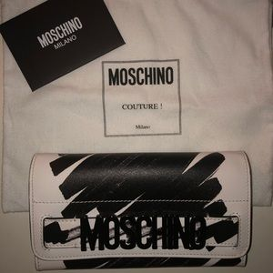 MOSCHINO Scribble Wallet *excellent condition*